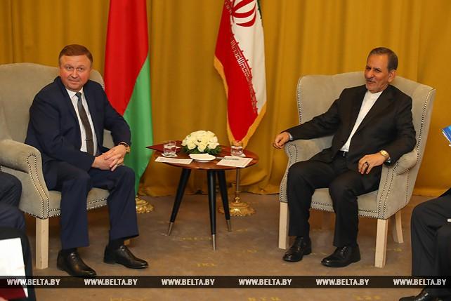 Кобяков встретился с первым вице-президентом Ирана