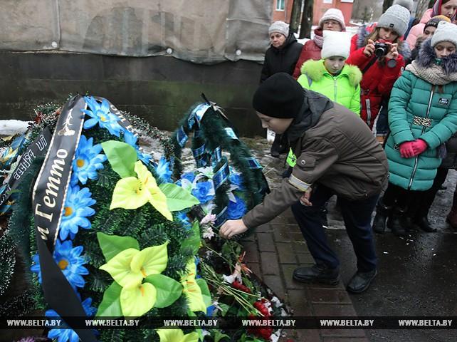 В Витебске прошел посвященный жертвам гетто митинг-реквием