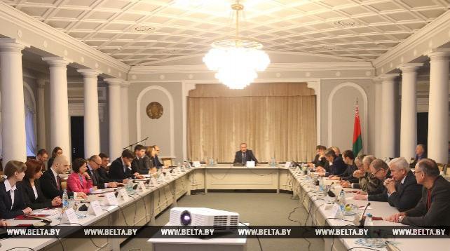 Заседание консультативного совета при Нацбанке прошло в Минске