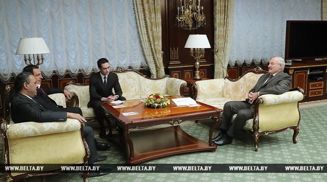 Лукашенко встретился с Президентом Ассоциации национальных олимпийских комитетов шейхом Ахмадом аль-Фахадом аль-Сабахом