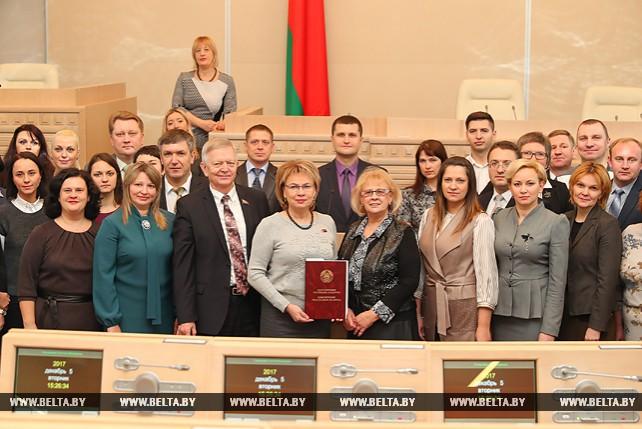 Встреча со слушателями Академии управления прошла в Совете Республики