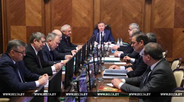 Заседание Совета Министров по итогам работы экономики за истекший период 2017 года