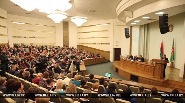 Семинар-учеба с руководителями и организаторами кампании по выборам депутатов местных Советов прошел в Витебске