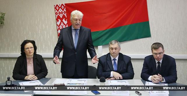 Гашение маркированного конверта к 100-летию Белорусского Дома печати состоялось в Минске