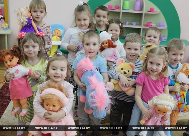 Около 200 детей посещают новый детский сад в Орше