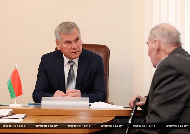 Андрейченко провел прием граждан в Докшицах