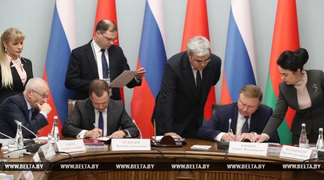 Беларусь и Россия утвердили ряд документов по сотрудничеству в СГ