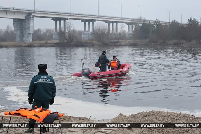 Понтонный мост через реку Припять в районе Житкович начнет работать 10 декабря