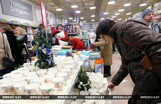 В столичном ЦУМе открылся новогодний базар
