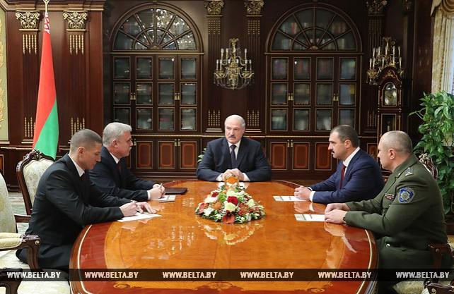 Лукашенко назначил новых руководителей ОАЦ и Службы безопасности Президента