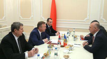 Кобяков встретился с премьер-министром Молдовы