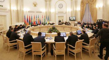 Заседание Совета постоянных полномочных представителей государств - участников Содружества при уставных и других органах СНГ