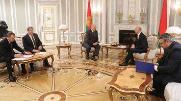 Президент Беларуси встретился с премьер-министром Молдовы