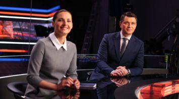 Второй национальный телеканал продемонстрировал новую студию