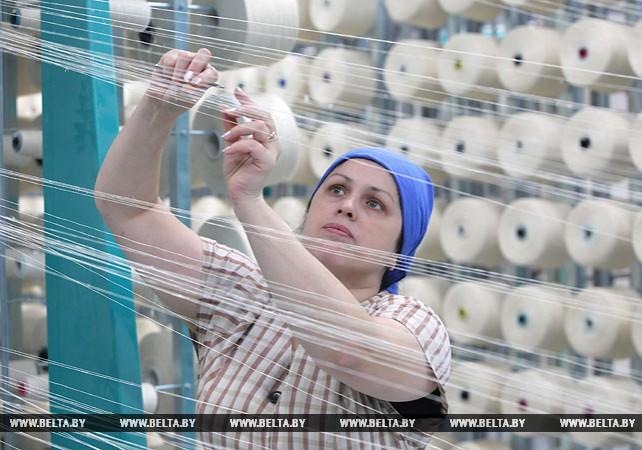 Благодаря модернизации на фабрике №2 Оршанского льнокомбината полностью обновились ее мощности