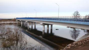 В Кореличском районе возвели новый мост через Неман