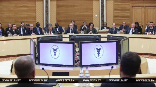 Торжественное заседание президиума БелТПП, посвященное 65-летию со дня основания