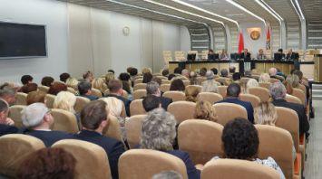Ермошина провела семинар-совещание в Миноблисполкоме