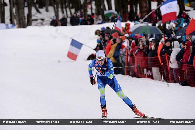Белорусская биатлонистка Ирина Кривко стала 13-й в спринте на этапе КМ во Франции