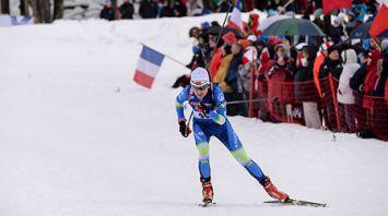 Ирина Кривко заняла 13-е место в спринте на этапе КМ по биатлону в Анси