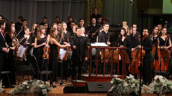 85-летний юбилей празднует Белорусская академия музыки