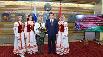 Руководителю самарской организации белорусов вручена медаль Франциска Скорины
