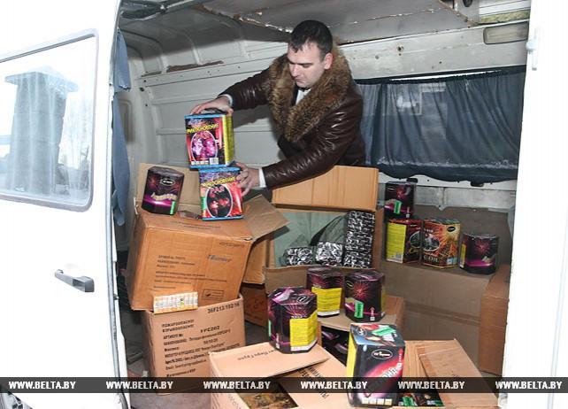 Более 12 тыс. единиц пиротехники изъято в Витебске