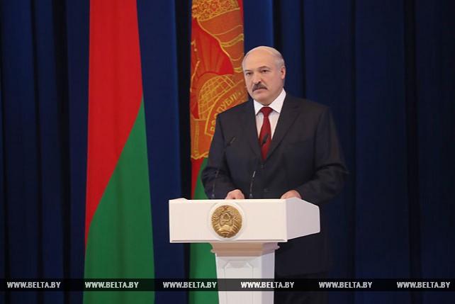 Лукашенко выступил на торжественном мероприятии, посвященном 100-летию органов государственной безопасности