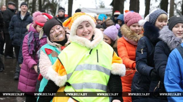Придвинская резиденция Деда Мороза открылась под Витебском