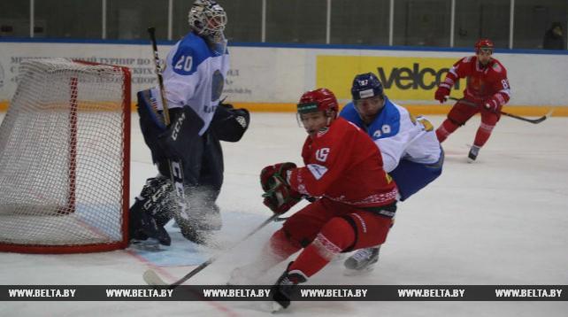 Хоккеисты сборной Беларуси обыграли Казахстан в товарищеском матче