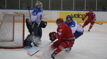 Сборная Беларуси по хоккею обыграла Казахстан