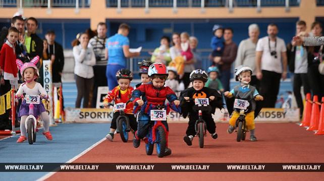 Беговелогонка SportkidsCup прошла в Минске