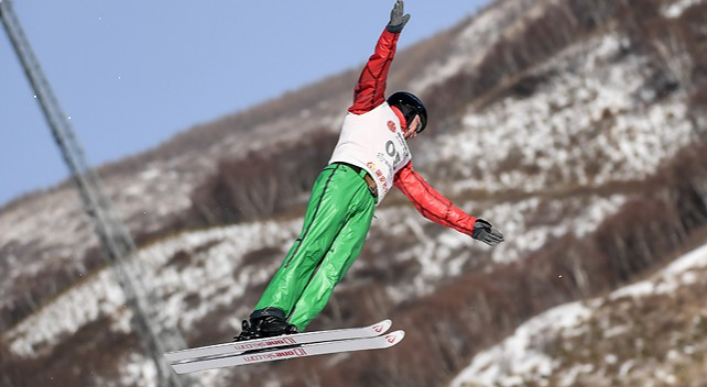 Белорус Максим Густик занял второе место на этапе КМ по фристайлу в Китае