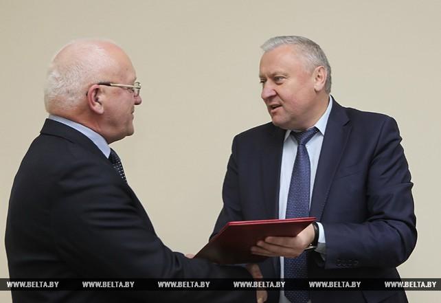 Журналист БЕЛТА Валерий Сидорчик награжден Почетной грамотой Гомельского облисполкома