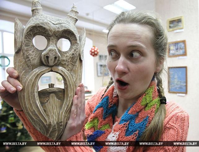 """Выставка-конкурс """"Карнавал масок"""" открылась в Витебске"""