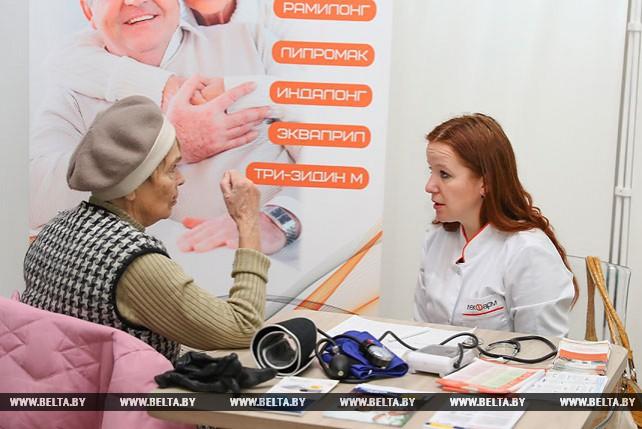 """Акция """"Здоровое сердце - долгая жизнь"""" прошла в Минске"""