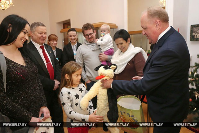 В Гродно чествовали 50-тысячного безвизового туриста