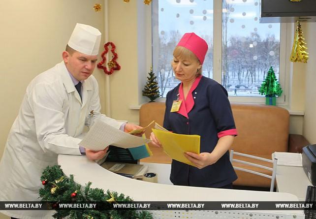 Более 1,3 тыс. операций выполнено в нейрохирургическом отделении Гомельской областной больницы