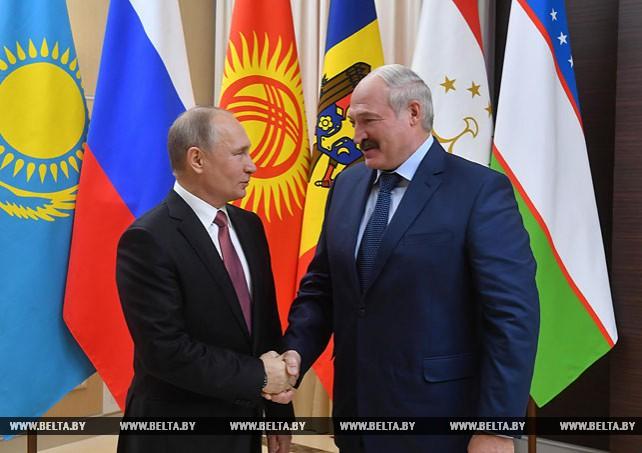 Лукашенко принял участие в неформальной встрече глав государств СНГ