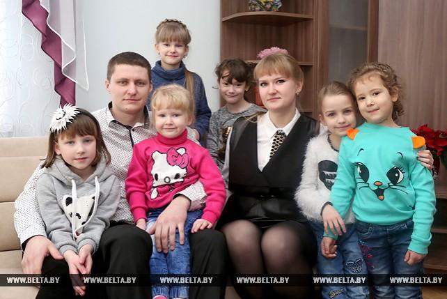 Новый детский дом семейного типа открылся в Гродно