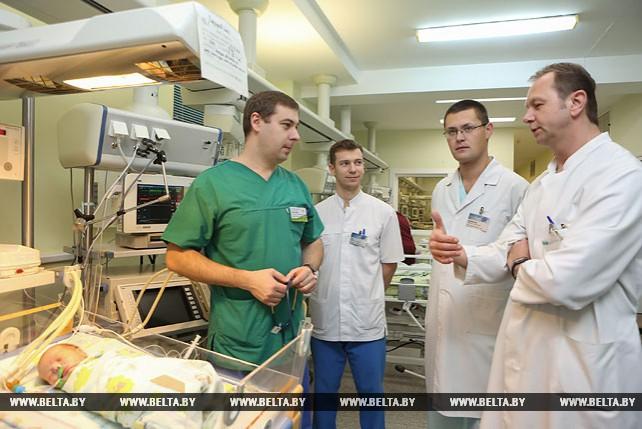 Белорусские хирурги спасли легкое новорожденного при редкой врожденной патологии
