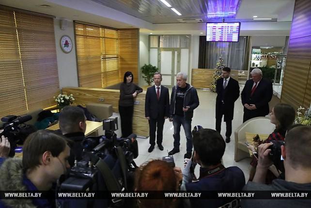 Освобожденные из плена в Ливии белорусские медики вернулись на родину