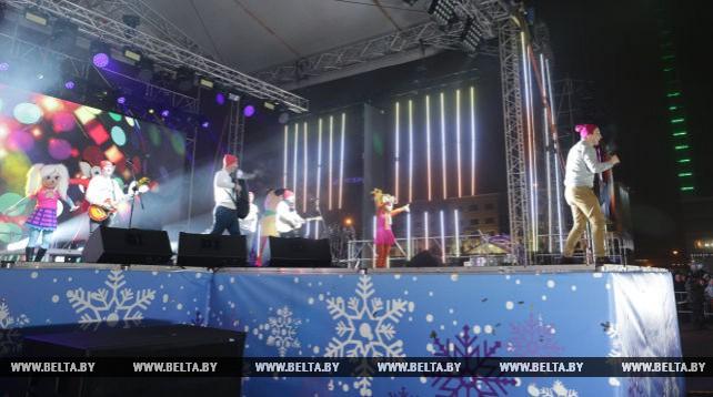 Минск отпраздновал Новый год