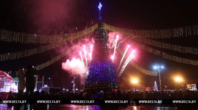Новогодняя ночь в Гродно