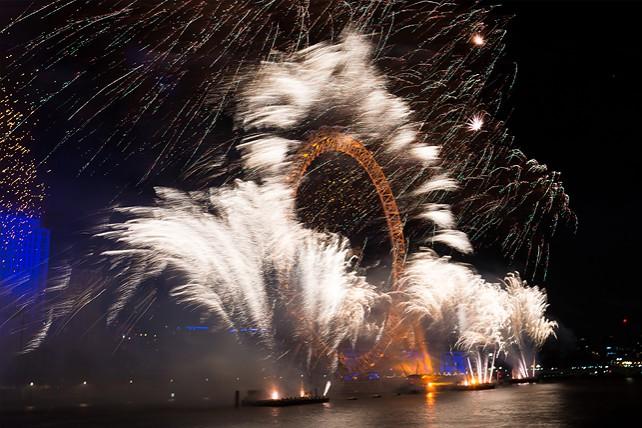 Новый год в городах мира