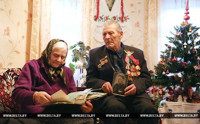 Супруги Антон и Галина Барташевич уже 62 года вместе