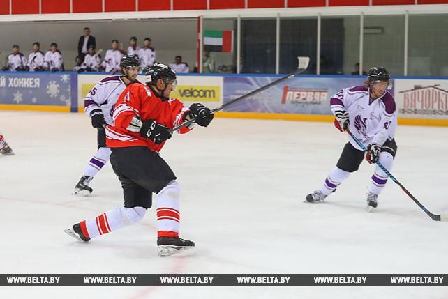 Команда Швейцарии встретилась с дружиной ОАЭ на Рождественском турнире