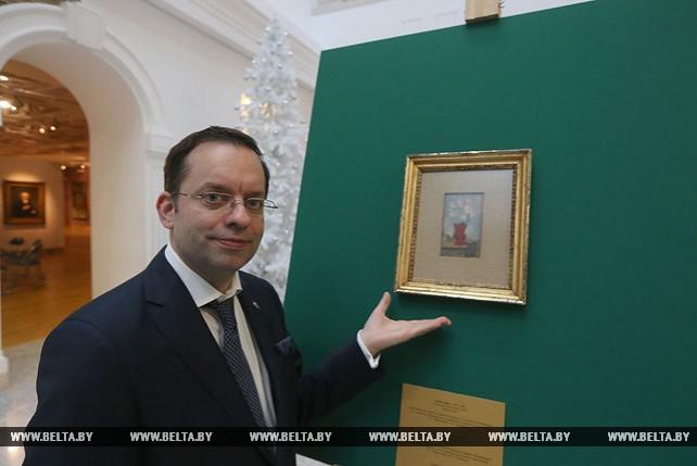 Картина художника Парижской школы живописи Осипа Любича передана в коллекцию НХМ