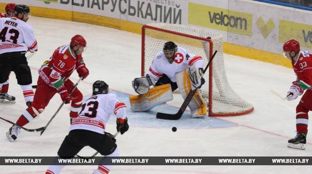 Команда Беларуси победила Швейцарию в матче Рождественского турнира и вышла в финал