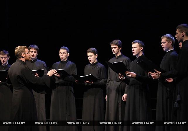 Рождественские песни прозвучали на празднике духовной музыки в Витебске